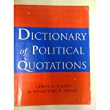 img - for Dictionary of Political Quotations book / textbook / text book