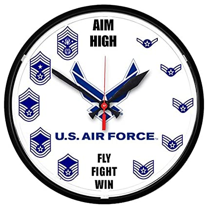 Air Force Enlisted Clock
