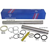 BMW 11-14-1-439-975 N62 V8 Collapsible Coolant Water Transfer Pipe Kit Stainless Steel