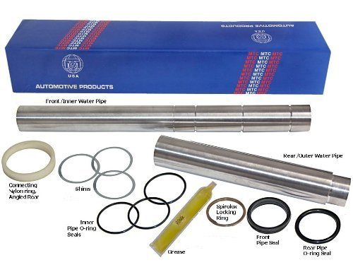 BMW 11-14-1-439-975A V8 Collapsible Coolant Water Transfer Pipe Kit Aluminum by Euromarque