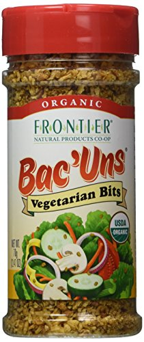 (Frontier Vegetarian Bits Bac'uns Certified Organic, 2.47-Ounce Bottles (Pack of 3))
