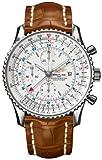 Breitling Navitimer World GMT Mens Watch A2432212/G571