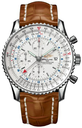 Breitling Navitimer World GMT Mens Watch A2432212/G571 (Wrist Breitling Date Watch)