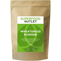 Wheatgrass Powder | European | 1KG | Superfood Outlet
