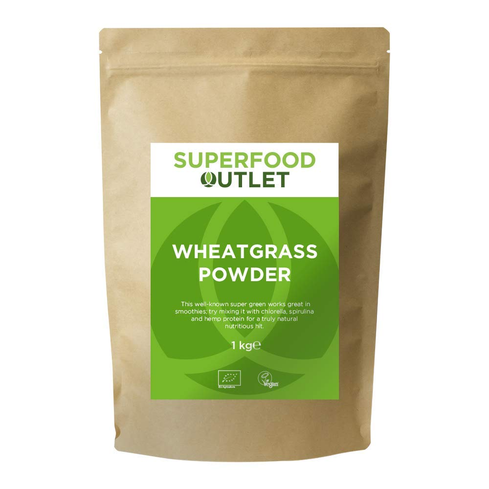 Wheatgrass Powder | European | 1KG | Superfood Outlet product image