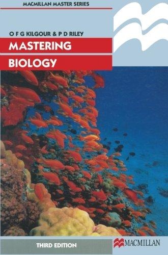 Mastering Biology (Palgrave Master Series)