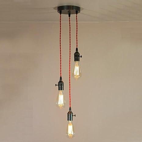 light bulb pendant glass aero snail light chandelier bare bulb pendant lights red twisted edison