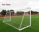 Soccer Goal Net Football Polyethylene Training Post Nets (24 x 8FT)
