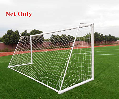 Soccer Goal Net Football Polyethylene Training Post Nets Full Size (12 x 6FT)