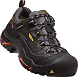 Keen Utility Men's Braddock Low Steel-Toed Boot,Black/Bossa Nova,9 D US