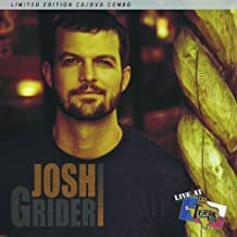 Live at Billy Bob's Texas By Josh Grider (2012-02-07)