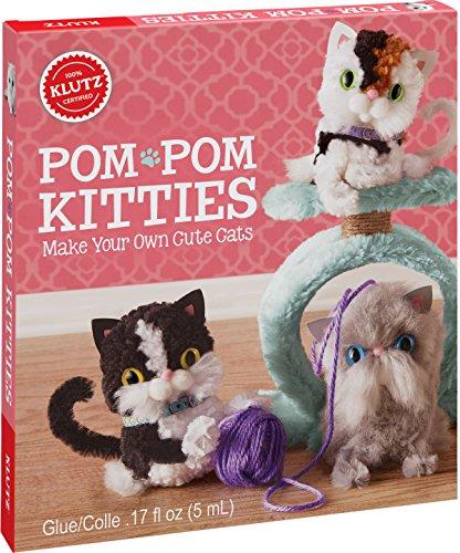 KLUTZ Pom-Pom Kitties Toy