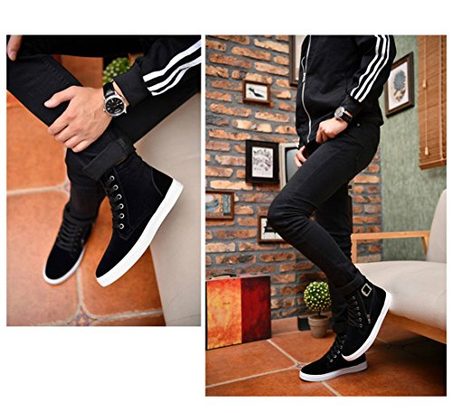 Shoe Black1 High Athletic Casual Sport Sneaker Outdoor Fashion Top Lot Men Running Gaorui Boot ZRTI4qw