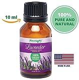 Naturopathy 100% Pure, Undiluted Lavender Essential Oil, Therapeutic Grade, 10ml (1/3 fl. Oz)-...