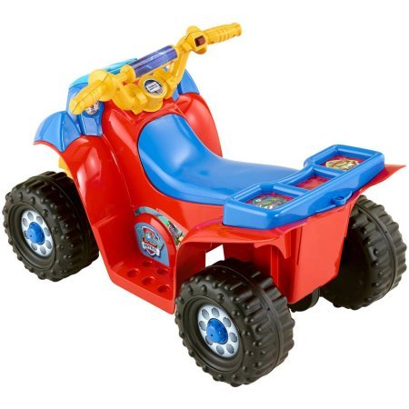Fisher price power wheels nickelodeon paw patrol lil quad for Fisher price motorized cars