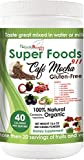 NR911 Super Foods 911 Café Mocha – Noni, Mangosteen, Goji, Acai, and much more blended with numerous ORGANIC fruits and vegetables that doctors and experts recommend daily for optimum health!