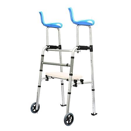 MyAou-Andadores Soporte para piernas Walker Frame Power ...