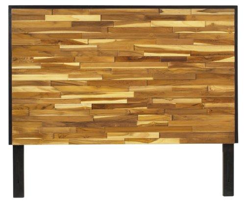 Padma'S Plantation Reclaimed Wood Headboard, King (Teak Frame Plantation)