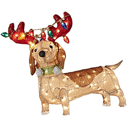 Large Outdoor Lighted Reindeer - 1