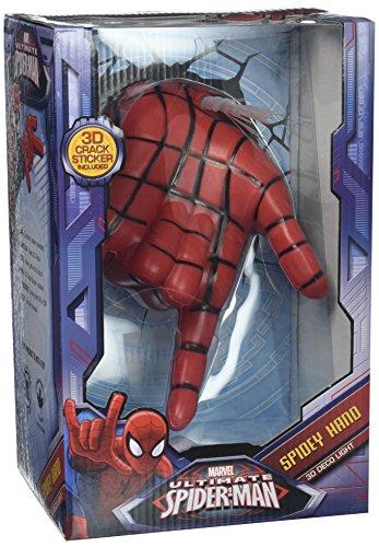 3dlightfx marvel spiderman hand 3d deco wall light the superhero store 3dlightfx marvel spiderman hand 3d deco wall light aloadofball Images