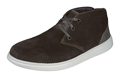 Skechers 65551 Relaxed Fit: Status - Rolano Mens Casual Shoes: Amazon.es: Zapatos y complementos
