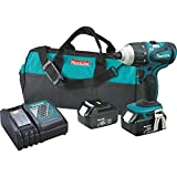 Makita XPT03 18V LXT Lithium-Ion Cordless Hybrid 4-Function Impact Hammer Driver Drill Kit For Sale