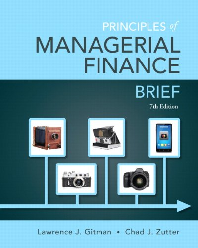133546403 - Principles of Managerial Finance, Brief (7th Edition)- Standalone book (Pearson Series in Finance)