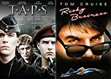 Taps Military School 25th Anniversary & Risky Business Tom Cruise DVD Set double feature bundle 80's movie set 2-pack