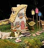 Marshall Home MG150 Fairy Gardening Miniature Statuary Merrifield House, 8'', Plain