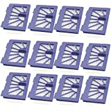 I-clean® Replacement Neato Filter [12 Packs] for XV-21 XV Signature XV Signature Pro XV-11 XV-12 945-0048 XV-15 Neato Robotic Pet & Allergy Filter