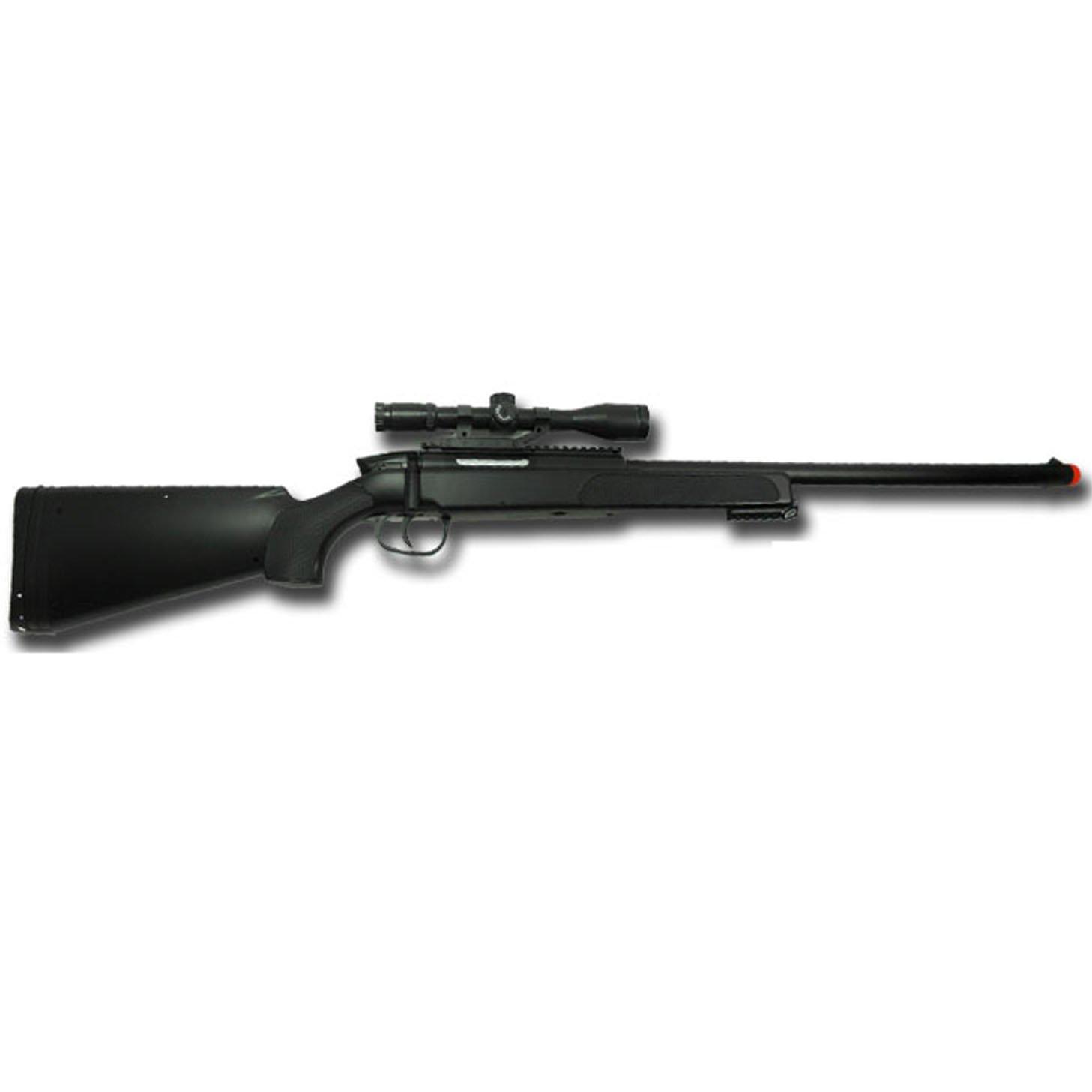 SWISS ARMS FUCILE A MOLLA M6 FIREPOWER BLACK EAGLE + FINTA OTTICA SOFTAIR