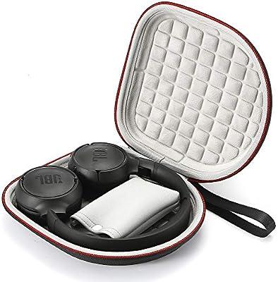 Estuche rígido para JBL T450BT / JBL T500BT sobre Oreja Auriculares inalámbricos Bluetooth, Bolsa Protectora de Viaje para Viaje: Amazon.es: Electrónica