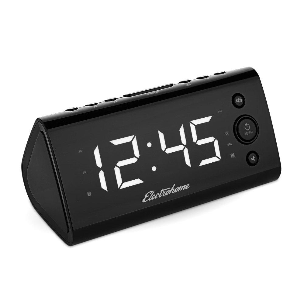 Amazoncom Electrohome Alarm Clock Radio with USB
