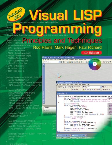 Visual Lisp Programming: Principles and Techniques by Goodheart-Willcox Pub