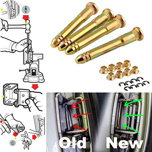 - Xotic Tech Heavy Duty Car Door Hinge Pins Pin Kit for Honda Civic Accord CR-V CRX CX DX EX SI EG6 B16