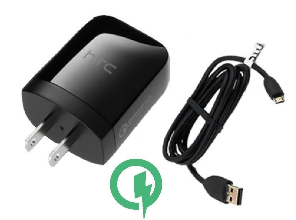 Rapid Charger (Quick Charge 2.0) works for ZTE Solar will Charge up in a blink, up to 60% faster than conventional chargers! [3ft Cable, 15W Dual Voltage!]