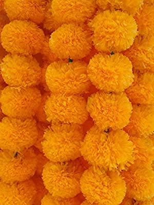 Amazon Com Decoration Craft Pack Of 5 Artificial Light Orange