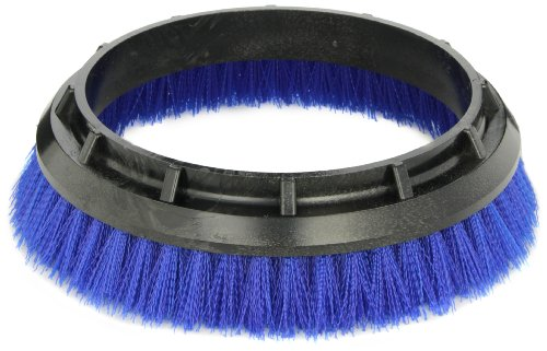 "- Oreck Commercial 237058 Crimped Polypropylene Scrub Orbiter Brush, 10.5"" bristle to bristle outer dimensions, Blue, For ORB550MC Orbiter Floor Machine"