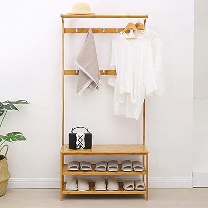 Shoe Coat Rack Simple Hallway Floor Zapatero Hanger ...