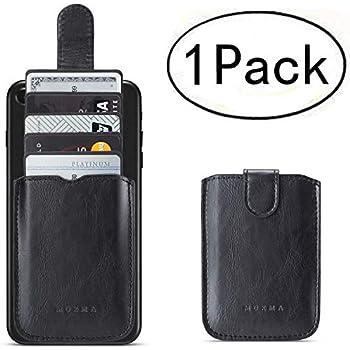Amazon.com: Phone Card Holder RFID Blocking, Pu Leather