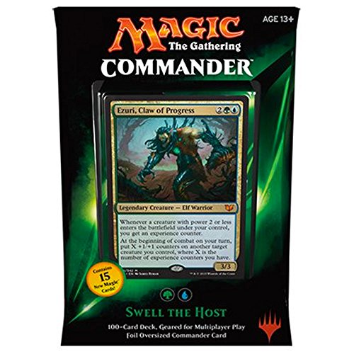 MTG Commander 2015 Edition Magic the Gathering - Swell the Host Green Blue Deck New Sealed (Magic The Gathering Blue Green Deck Standard)