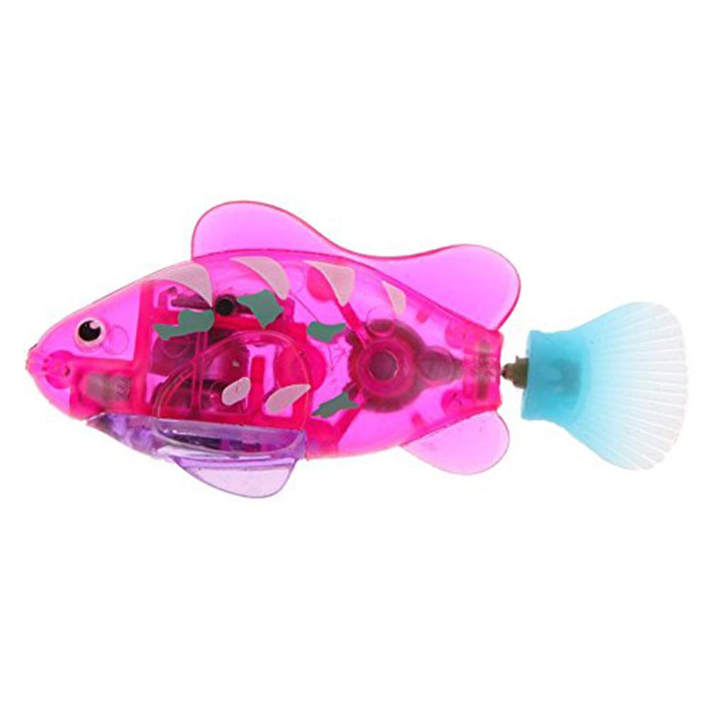 Naisicatar Piscina Robot Fish Pescado bater/ía acu/ática Desarrollado Amusant Juguete Activado y Agua M/ágico ni/ños de Juguete electr/ónico de Regalo Infantil Mini Realista rob/ótico de Pescado