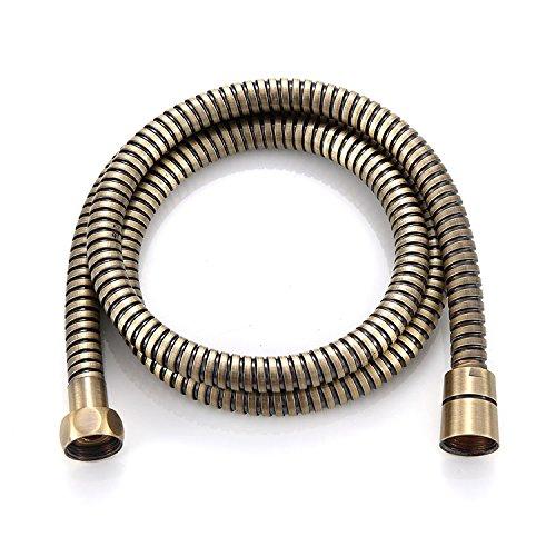 Bronze Shower Hose SUS 1.5 Meters Length Hand Head Flexible Hose Wholesale Shower Tube Replacement