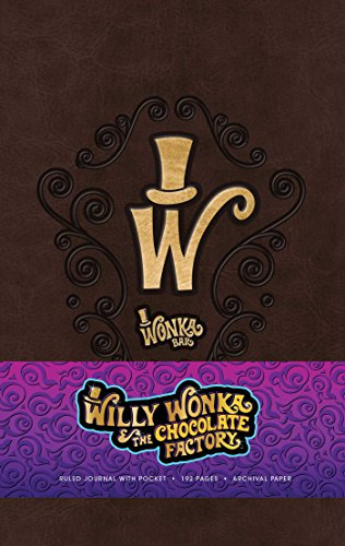 Willy Wonka Hardcover Ruled Journal