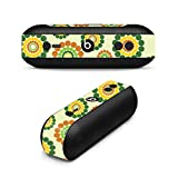 MightySkins Skin for Beats by Dr. Dre Pill Plus - Hippie Flowers | Protective, Durable, and Unique Vinyl Decal wrap Cover | Easy to Apply, Remove, and Change Styles | Made in The USA