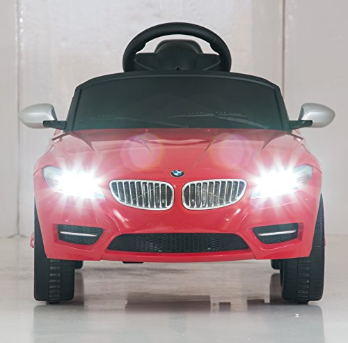 Bmw Z4 Red: Vroom Rider BMW Z4 Rastar 6V Battery Operated/Remote