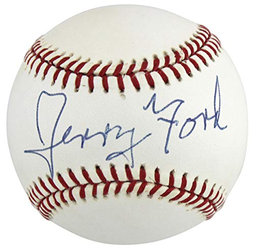 (Gerald R. Ford Authentic Signed William White Onl Baseball PSA/DNA #A53073)