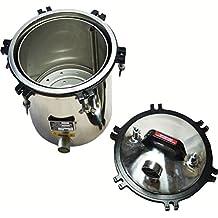 OLizee Electric Heated 4.7 Gallon(18L) Autoclave Steam Sterilizer