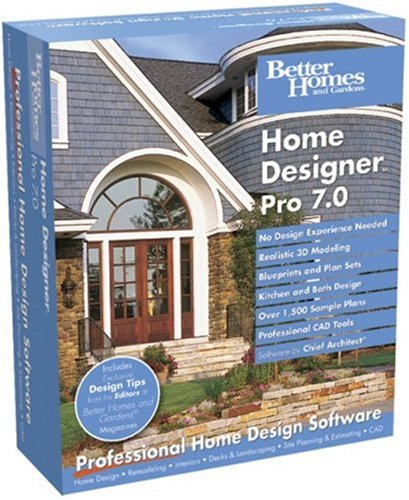 Better Homes And Gardens Home Designer home designerchief architectbetter homes and gardens Amazoncom Better Homes And Gardens Home Designer Pro 70 Old Version Software