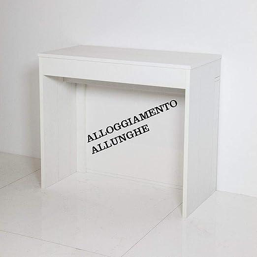 Itamoby Unika 90 cm Consola Extensible, Paneles de nobilitato ...